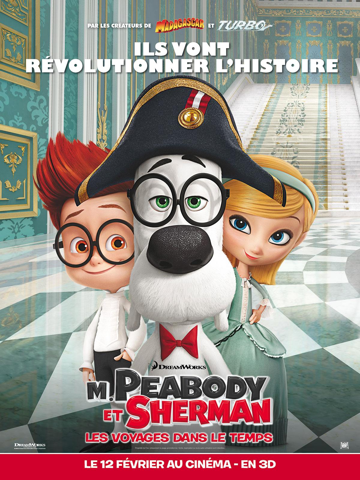 M. Peabody et Sherman (2014) en français